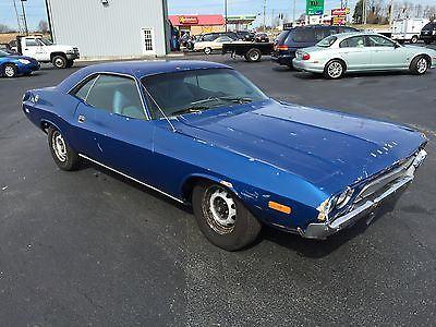 1972 Dodge Challenger Project Car