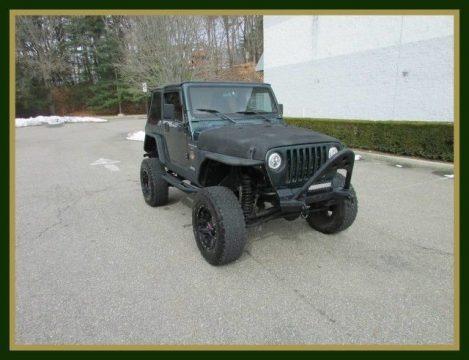 NICE SOLID 2000 Jeep Wrangler Sahara for sale