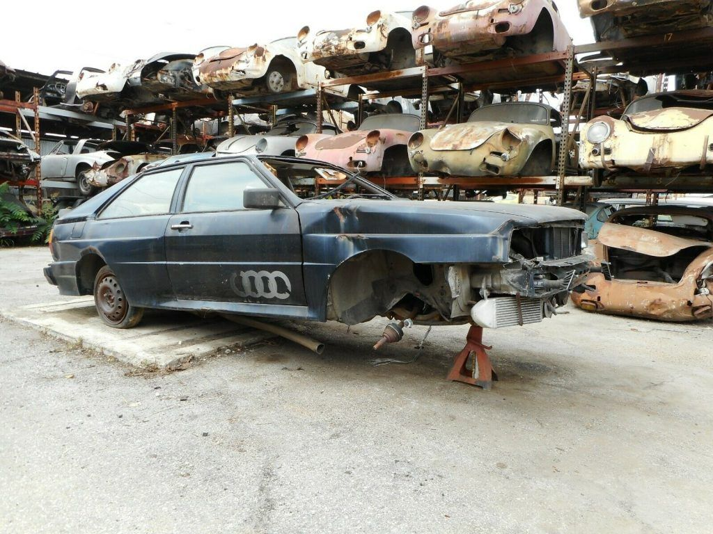 1983 Audi Quattro Turbo Coupe [Project Car for Parts or Restoration]