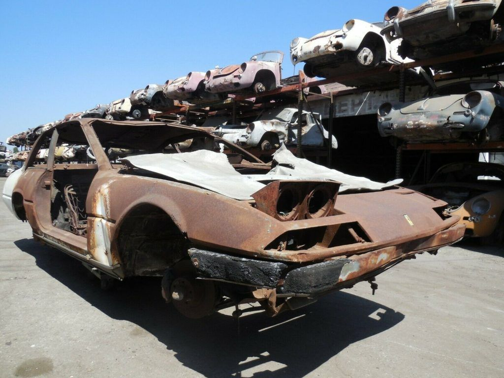 1984 Ferrari 400 GTi Coupe Project Car for Parts or Restoration
