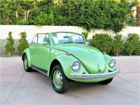 1968 Volkswagen Beetle Convertible – Classic Bug for sale
