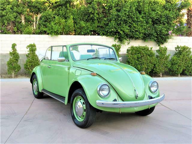 1968 Volkswagen Beetle Convertible – Classic Bug