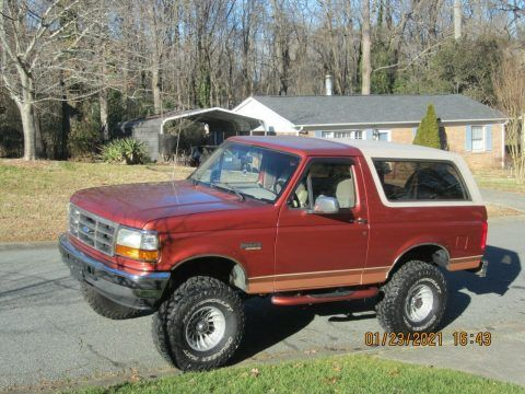 1995 Ford Bronco w/ rebuilt title for sale