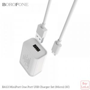 Borofone Android Charger Set (Code-BA16)-57638