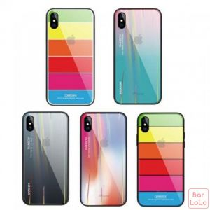 Joyroom JR-BP476 Rainbow Glass Case For iPhone XR (JRM0009)-61935
