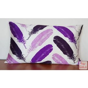 The Cushion Factory Purple Feather(SG-PLB187)-63018