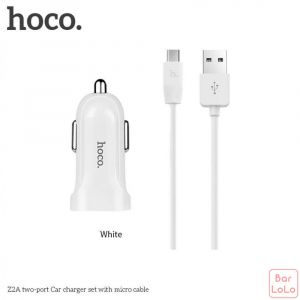 Hoco Android Car Charger Set ( Z23 )-50994