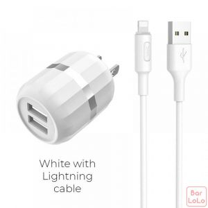 Hoco Iphone Charger Set ( C41 )-51128