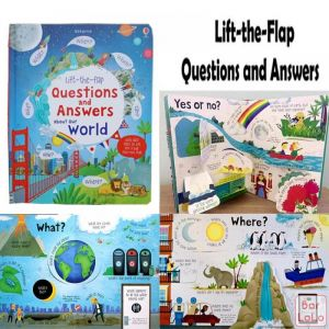 Educational learning book (flap type)-65328