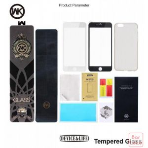 WK-Armor Series Frosted PET 3D curved edge tempered glass for iph6Plus-41431