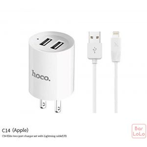 Hoco Iphone Charger Set ( C14 )-51165