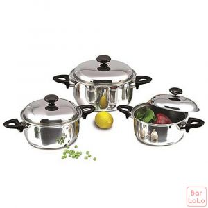 SunHouse Cookware Pot Set (Code - SH113)-56445