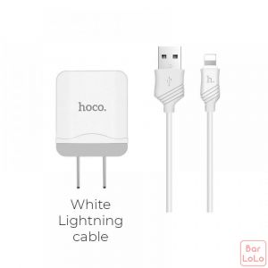 Hoco Iphone Charger Set ( C22 )-51159