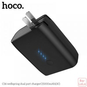 Hoco Power Bank Adapter ( C36, 5000mAh )-51153