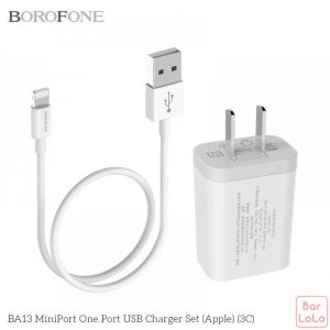 Borofone Lightning Charger Cable ( BA 13 )-57787