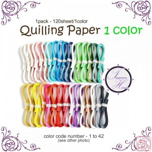 Quilling paper 1color-59756