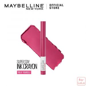 MAYBELLINE SUPER STAY INK CRAYON MATTE LIPSTICK 35 TREAT YOURSELF (G3706600)-73387