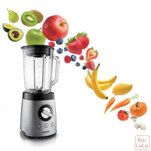 PHILIPS Glass Jar Blender(HR2096/00)-60499