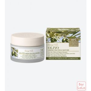 Bottega Verde OLIVE OIL - FACE CREAM - for Mature Skin, for nourished, toned skin, with Olive oil from Palazzo Massaini (50 ml)-42651