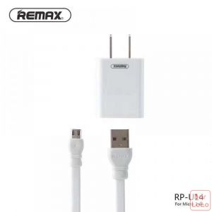 REMAX Dual USB  2.4A Micro USB  Charger & Data Cable (RP-U14) (PRO CN)-69135