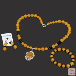 Hers Myanmar Yellow Agate-69199