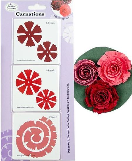 Picture of Carnations Quilling Dies