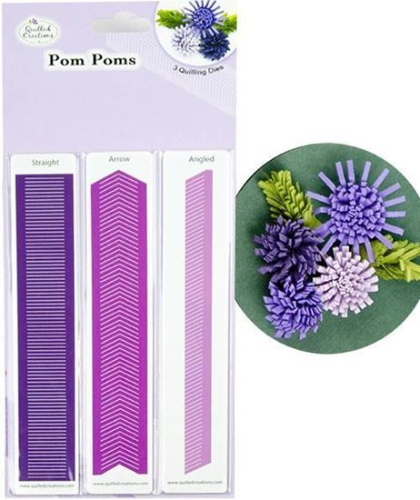 Picture of Pom Poms Quilling Dies