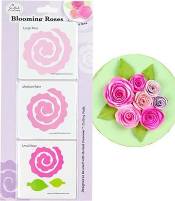 Picture of Blooming Roses Quilling Dies