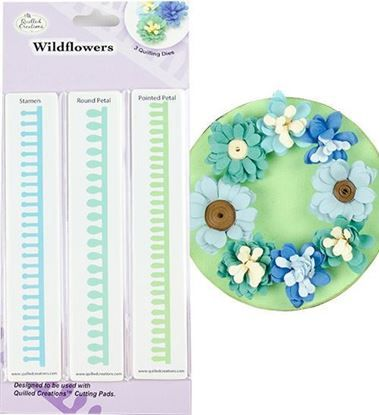 Picture of Wildflower Quilling Dies