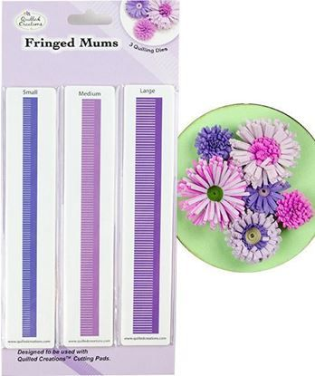 Picture of Fringed Mums Quilling Dies