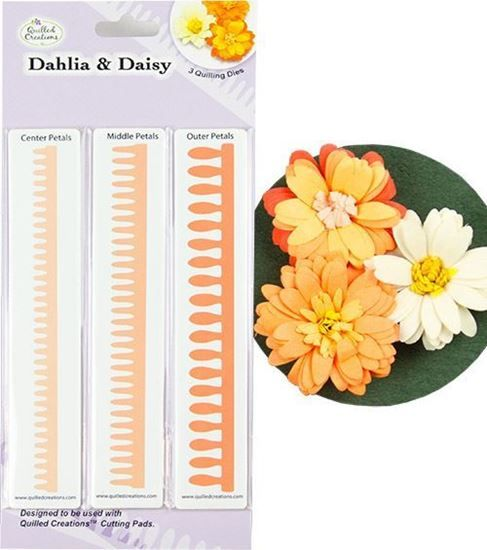 Picture of Dahlia & Daisy Quilling Dies