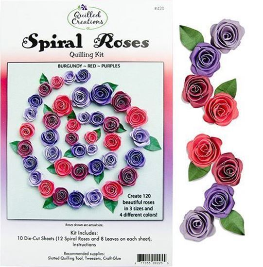 Spiral Roses Cover