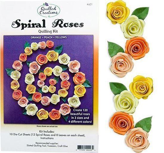 Spiral Roses Quilling Kit