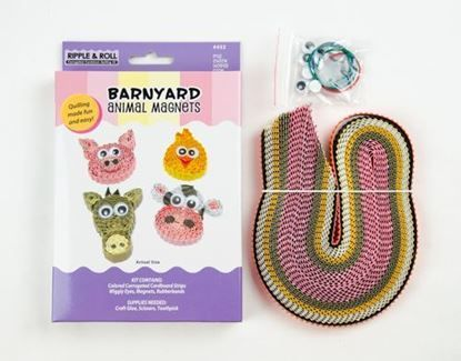 Picture of Barnyard Animal Magnets Kit