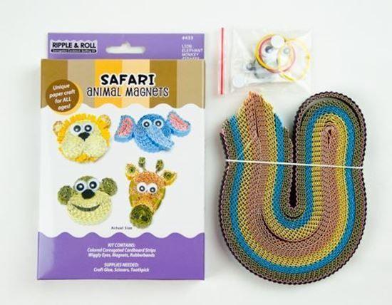 Picture of Safari Animal Magnets Kit