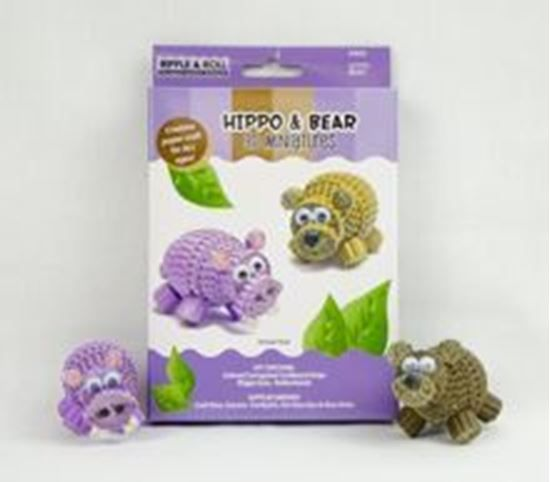 Picture of Hippo & Bear 3D Miniatures Kit