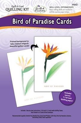Bird of Paradise Card Quilling Kit