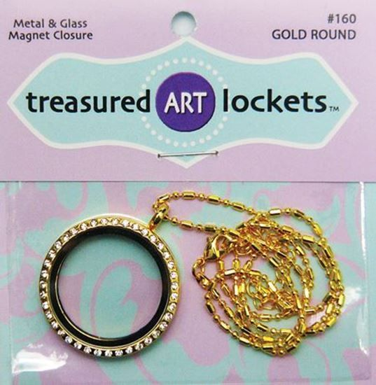 Picture of Gold Round Locket