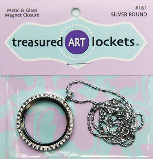 Picture of Silver Round Locket