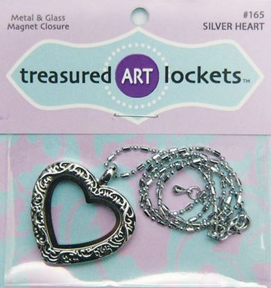 Picture of Silver Heart Locket