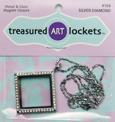 Picture of Silver Diamond Locket
