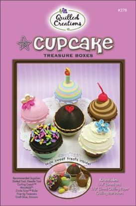Picture of Cupcake Treasure Box Quilling Kit