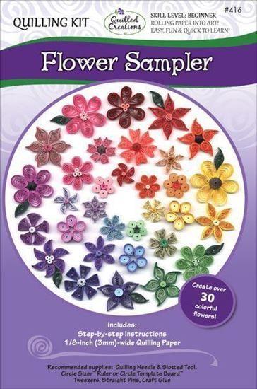 416-Flower-Sampler-Quilling-Kit-Single