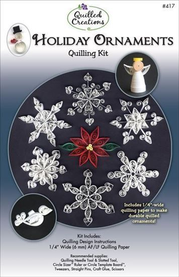 Holiday Ornaments Quilling Kit