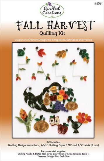 Fall Harvest Quilling Kit