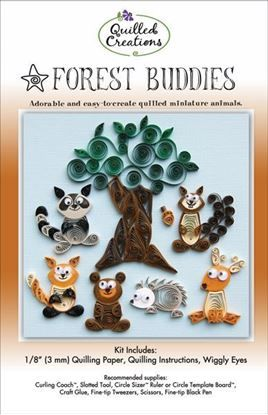 Forest Buddies Quilling Kit