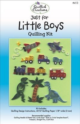 Just for Little Boys Quilling Kit