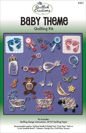 Baby Theme Quilling Kit