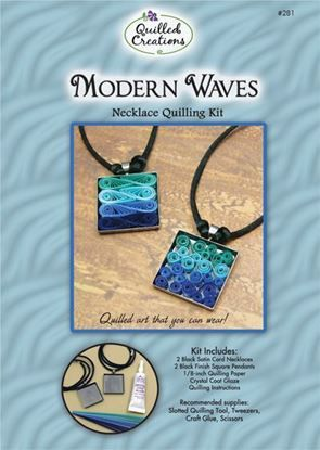Modern Waves Necklace Quilling Kit