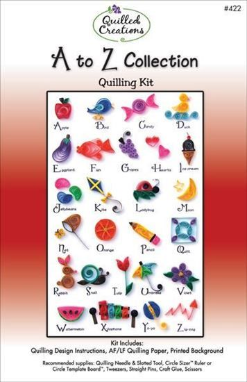 A to Z Quilling Kit